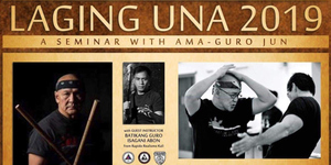 Laging Una 2019 - A Seminar with Ama - Guro Jun