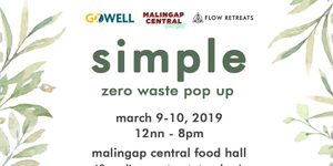Simple: Zero Waste Pop Up