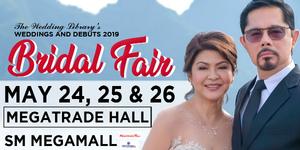 The Wedding Library's Bridal Fair 2019 #MayForever