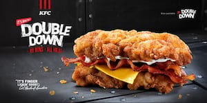 KFC's Double Down is Back All-Meat and Mighty!