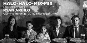 Halo-Halo-Mix-Mix, Family Portraits by Ryan Arbilo