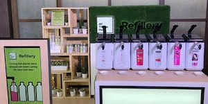 Unilever Introduces Refillery Stations to Refill Empty Hair Care Bottles