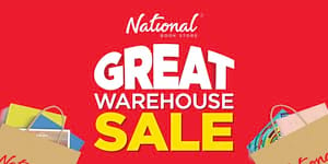 Score Up to 80% Discount on Books at The National Book Store Great Warehouse Sale