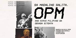 Sa Madaling Salita, OPM: Ang Himig Pilipino sa Dekada Sitenta