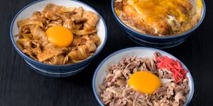 Dohtonbori's Katsu-Don, Gyu-Don, and Butatama-Don Bowls Are Now Only P190