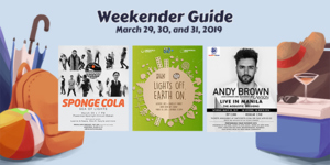 Weekender Guide: March 29, 30, and 31, 2019