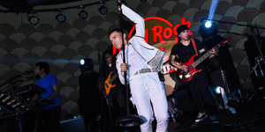 Arnel Pineda's Guitar Smash Marks the Grand Opening of Hard Rock Cafe Manila