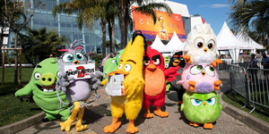 Sneak Peek: 'The Angry Birds Movie 2' Swoops at the 72nd Cannes Film Festival