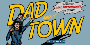 Dad About Town: A Santolan Town Plaza Father's Day Celebration
