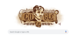 Google Doodles Jose Rizal on His 158th Birthday