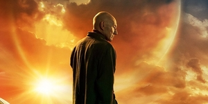 LOOK: 'Star Trek: Picard' Poster Reveals the Ex-Captain's Furry Friend