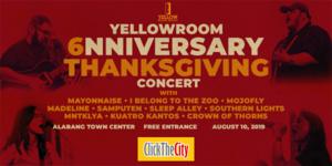 Yellow Room Anniversary Thanksgiving Concert