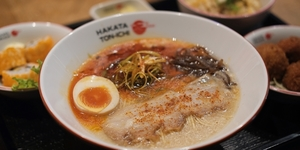 Hakata Ton-Ichi at Glorietta's Japan Town Offers P180 Ramen Bowls