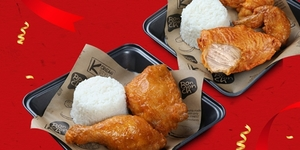Double Your Two-Piece Chicken Meal for Free at Bon Chon!