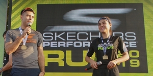 Gerald Anderson and Sanya Lopez Lead Star-Studded Skechers Performance Run