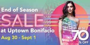 Uptown Mall End Of Season Sale Starts this Friday