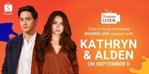 Shopee Reunites Kathryn Bernardo and Alden Richards in 9.9 Super Shopping Day!