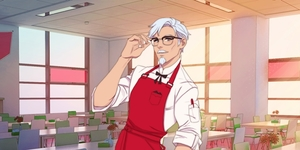 LOOK: Date Colonel Sanders in Upcoming Dating Sim From KFC!