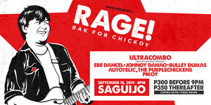 RAGE! Rak For Chickoy