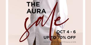 The Aura Sale (October 4-6)