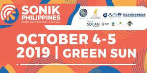 SONIK Philippines Music Conference + Festival