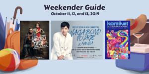 Weekender Guide: October 11, 12, and 13, 2019