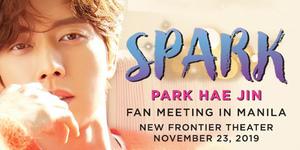 Spark: Park Hae Jin Fan Meeting in Manila