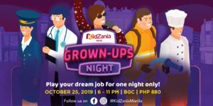 Escape Your Reality at Kidzania Manila's Grown-Ups Night 2019