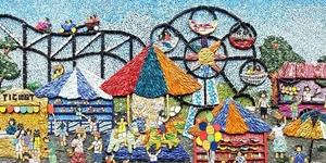 IN PHOTOS: 'Bai Bai, Bukid' An Exhibit of Intricate Mosaic Art Pieces