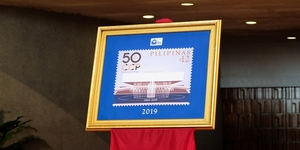 CCP Launches Special Commemorative Stamps on Golden Anniversary