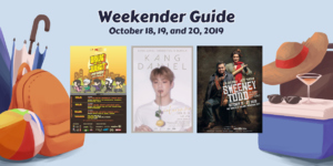Weekender Guide: October 18, 19, and 20