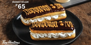 Tim Hortons Serves Mummy Eclairs In Time For Halloween!