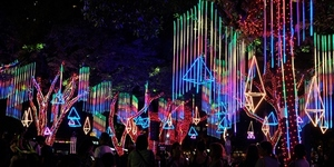 FIRST LOOK: Ayala Triangle Gardens' Gallery of Lights 2019