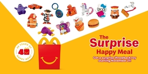 McDonald's Reveals Fourteen Throwback Happy Meal Toys This November!