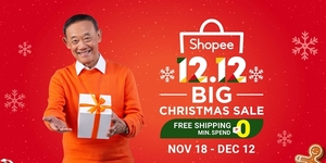 The Second Wave to 11.11, Shopee's 12.12 Big Christmas Sale is Here!