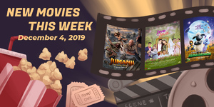 New Movies This Week: A Shaun The Sheep Movie: Farmageddon, Jumanji: The Next Level and more!