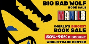 Big Bad Wolf Book Fair Returns to Manila this Valentine's Day!
