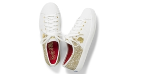 Catch Keds' Year of The Rat Sneaker with Glistening Gold Tones!