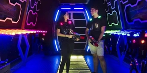 Consider For a Valentine's Date: Play Laser Tag!