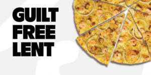 Get Three Pizzas for Only P699 with Yellow Cab's Guilt-Free Lent Promo!