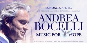 Watch Andrea Bocelli Perform in Milan's Empty Duomo Cathedral on Easter