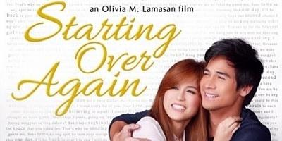 Top Filipino Pinoy Romantic Movies: Starting Over Again