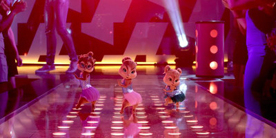 Chipettes to the Rescue in Alvin and the Chipmunks 4:The Road Chip