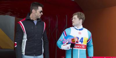 Olympics' Triumphant Underdog Soars in  Eddie the Eagle on April 6