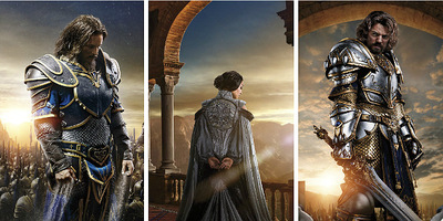 'Warcraft: The Beginning' Unleashes Character Posters