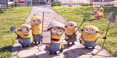 Short Film Mower Minions Plays In Front of The Secret Life of Pets