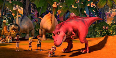 Back to the age of Dinosaurs with SM Family Weekend Movie Dino Time this November