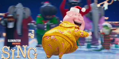 Sing Brings Joy to the World with Christmas-Themed Clip