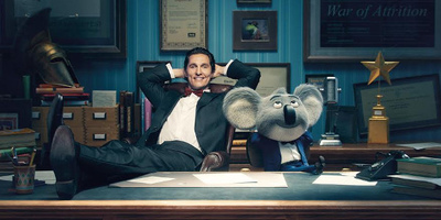 McConaughey Bursts with Optimism as Koala Showman in Sing