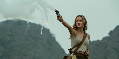 Brie Larson Channels Her Inner Action Hero in Kong: Skull Island